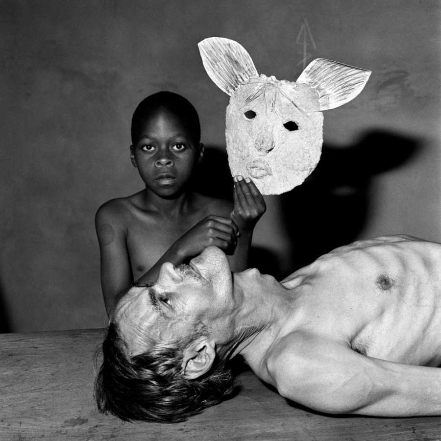 [DAY 2] Roger Ballen, Tommy, Samson and a Mask, 2000